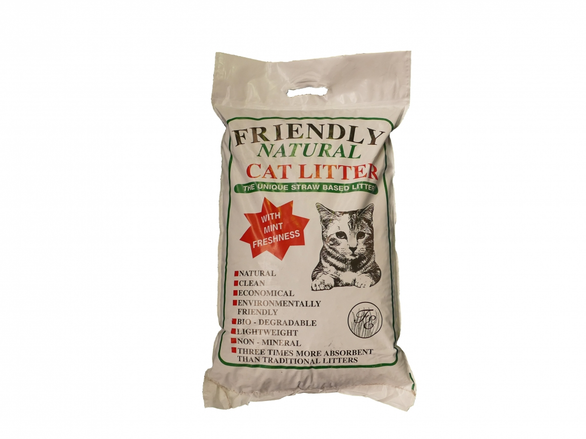 Friendly Natural Cat Litter 8kg
