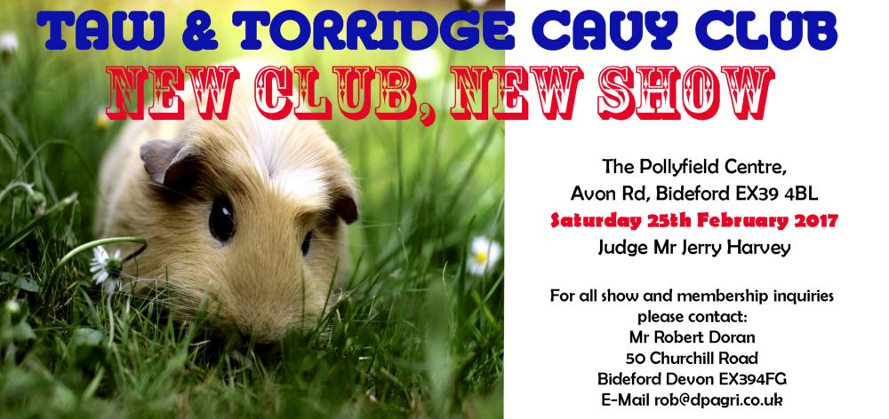 Taw & Torridge Cavy Club